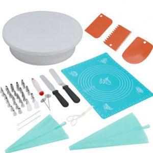 50PCS Cake Decorating Tool Set Supply Kit Baking Supplies Beginner Baking AU