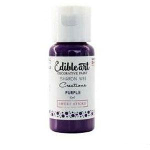 Purple Edible Art Painting