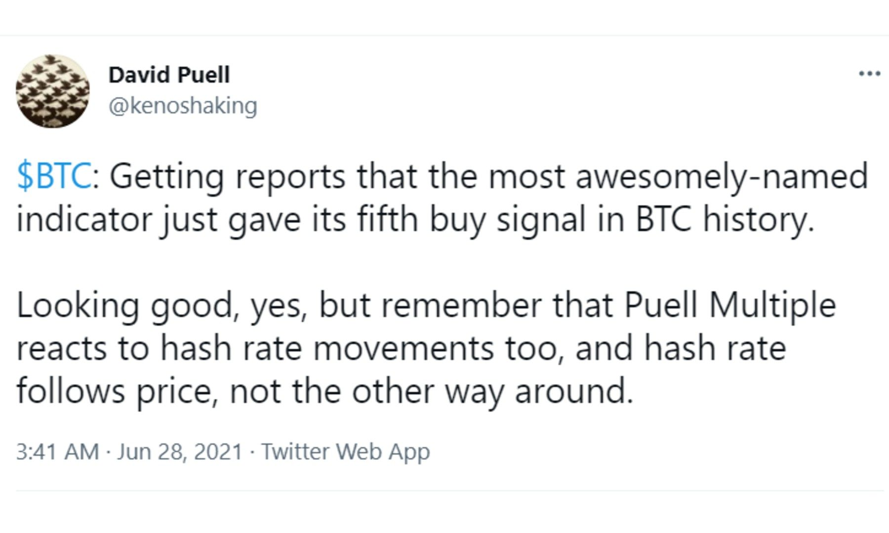 David Puell Twitter