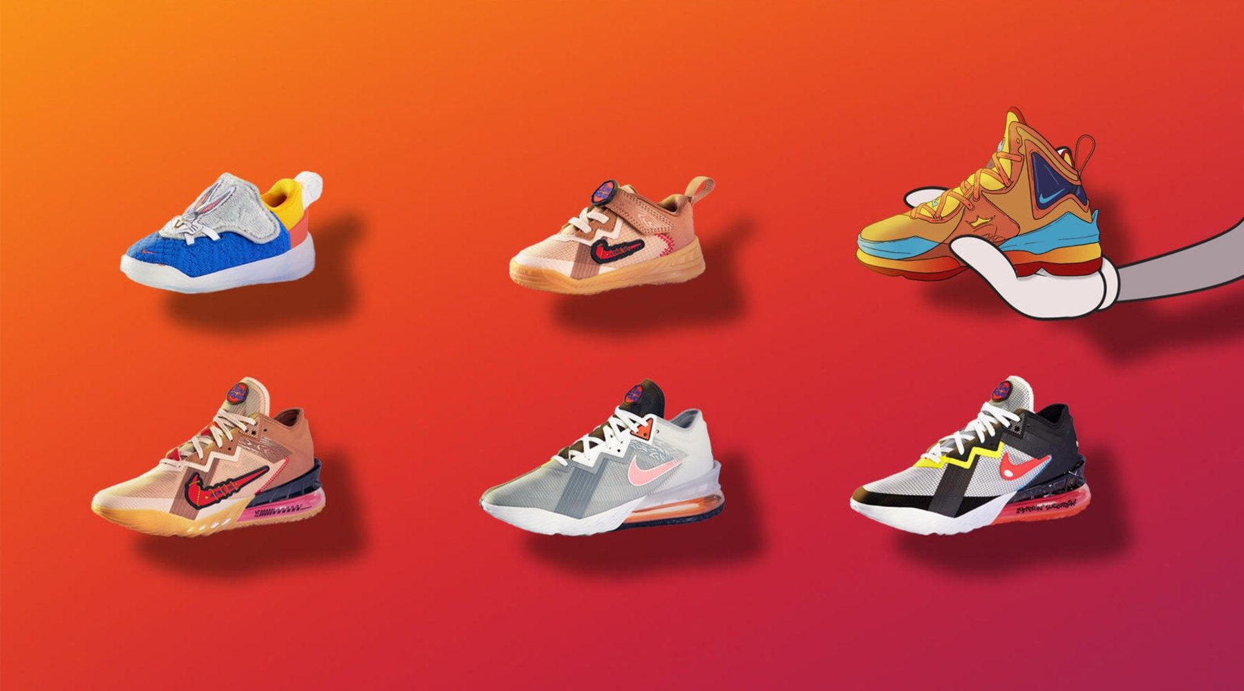 Nike Space Jam sneaker collection
