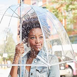 49% off Crocox Large Clear Umbrellas