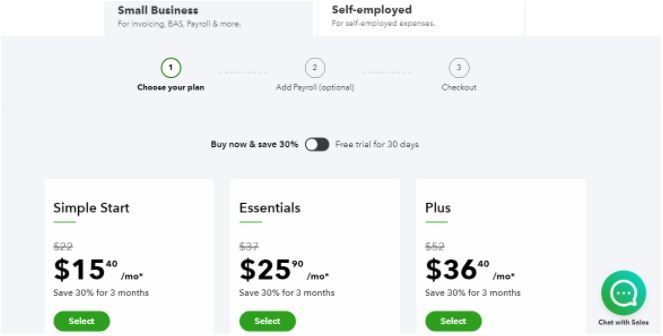 Step 1 - How do I use my Intuit Quickbooks discount code?
