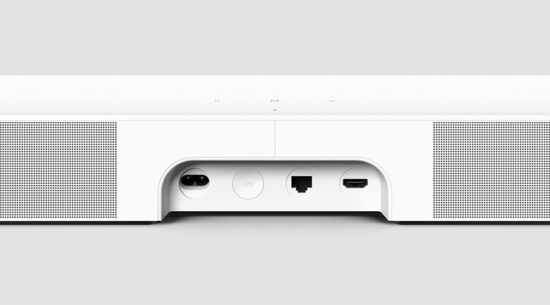 Sonos Beam Gen 2 Back View Ports