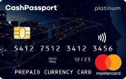Cash Passport Platinum Mastercard – Travel Money Card Review