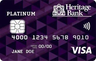Heritage Bank Platinum Credit Card