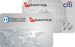 Frequent Flyer Diners Club Card and World Mastercard Card