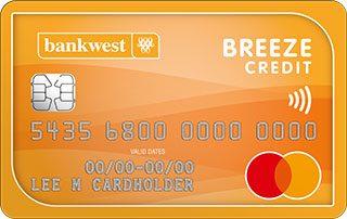 Bankwest Breeze Classic Mastercard Image