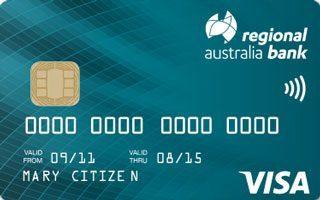 Regional Australia Bank Your Choice Credit Card