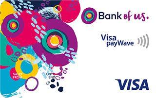 Bank of us Visa Credit Card