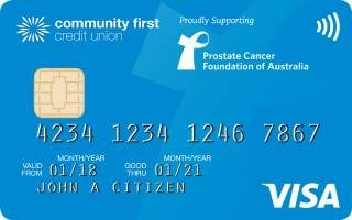 Community First Low Rate Blue credit card