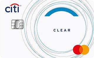 Citi Clear credit card