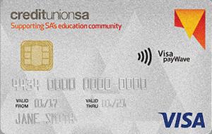 Credit Union SA Education Community credit card