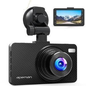 Apeman C450 Dash Cam Review: Functional, but not fancy