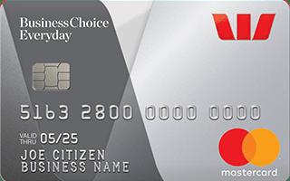 Westpac BusinessChoice Everyday Mastercard