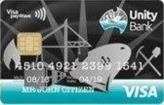 Unity Bank Visa Credit Card