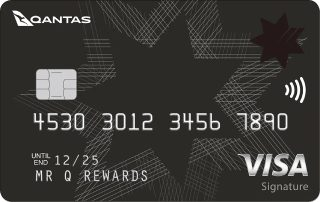 NAB Qantas Rewards Signature Card logo image
