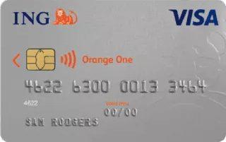 ING Orange One Low Rate credit card