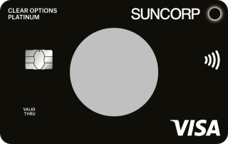 Suncorp Clear Options Platinum Credit Card – Exclusive Offer