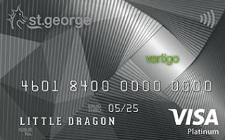 St.George Vertigo Platinum Credit Card