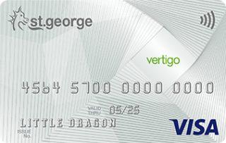 St.George Vertigo Card – Cashback Offer